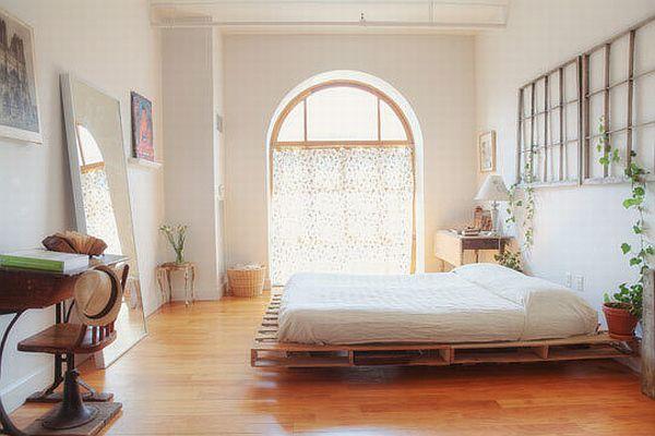 25+ Ingénieux et Belles Meubles de Chambre Réalisés à partir de Palettes