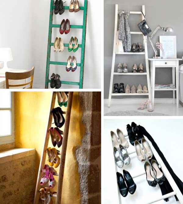 15 rangements pour les chaussures faire soi m me. Black Bedroom Furniture Sets. Home Design Ideas