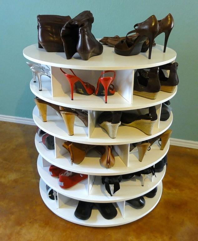 15+ Rangements Pour les Chaussures à Faire Soi-Même