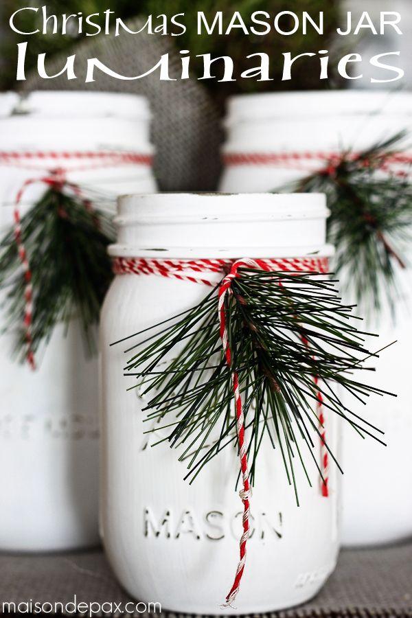 20+ Idées Brillants pour Déco Noël DIY avec des Bocaux en Verre  20+ Idées Brillants pour Déco Noël DIY avec des Bocaux en Verre