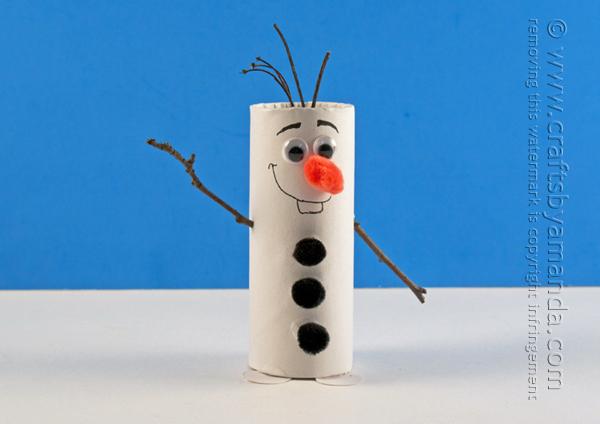 25+ Fantastique Décoration de Noël en Rouleau de Papier Toilette