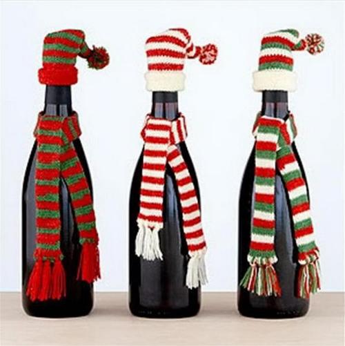 20+ Incroyable Décorations de Noël avec des Bouteilles de Verre  20+ Incroyable Décorations de Noël avec des Bouteilles de Verre  20+ Incroyable Décorations de Noël avec des Bouteilles de Verre