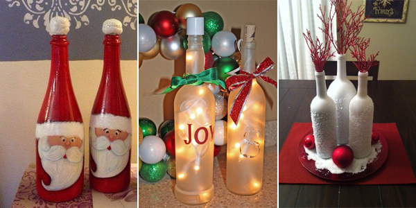 diy-decorations-de-noel-bouteilles
