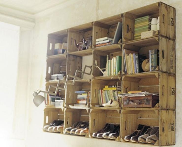 15+ Idées Créatives pour Recycler les Caisses en Bois