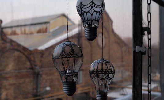 20+ Fantastique Idées Lumineuses pour Recycler vos Vieilles Ampoules  20+ Fantastique Idées Lumineuses pour Recycler vos Vieilles Ampoules  20+ Fantastique Idées Lumineuses pour Recycler vos Vieilles Ampoules