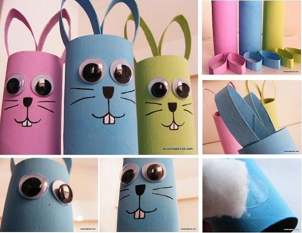 15+ Ideés Ingénieux Animaux Avec des Cartons de Papier Toilette