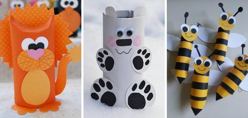 15 ide s ing nieux animaux avec des cartons de papier - Diy rouleau papier toilette ...