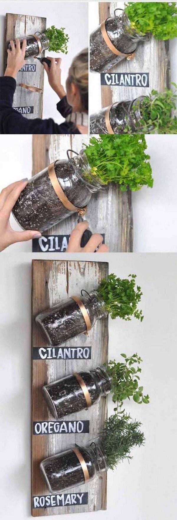 15+ Façons Différentes et Ingénieux Avec d'Utiliser les Pots Mason!