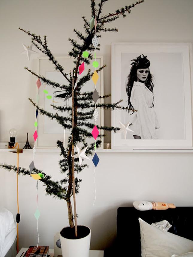 15+ Sapin de Noël Original Alternatives Artistiques à l'Arbre Classique