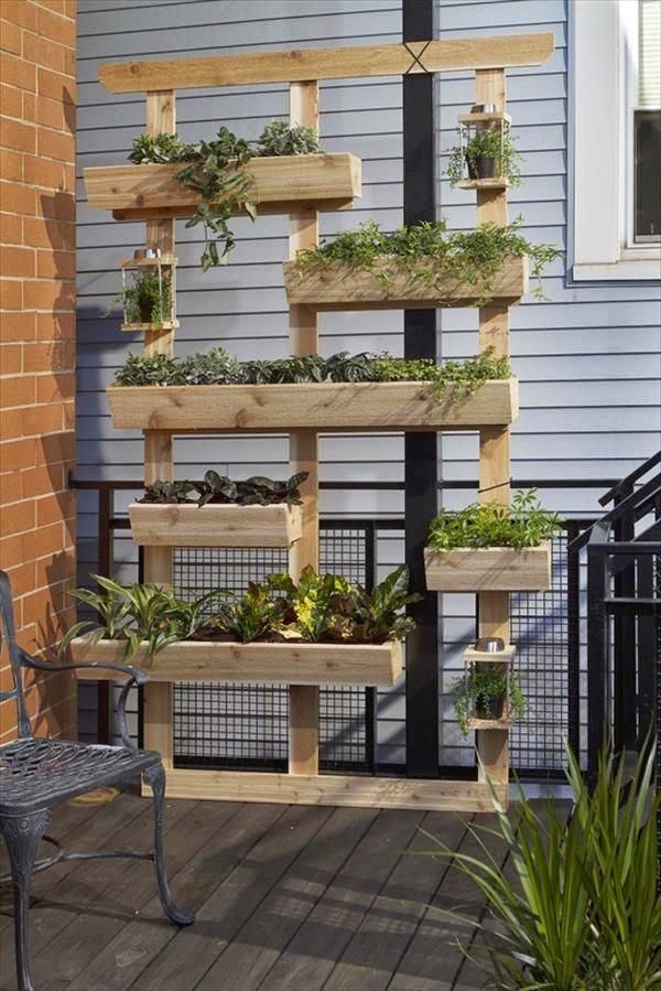 20 magnifiques jardins verticaux pour votre balcon for Balcon jardin vertical
