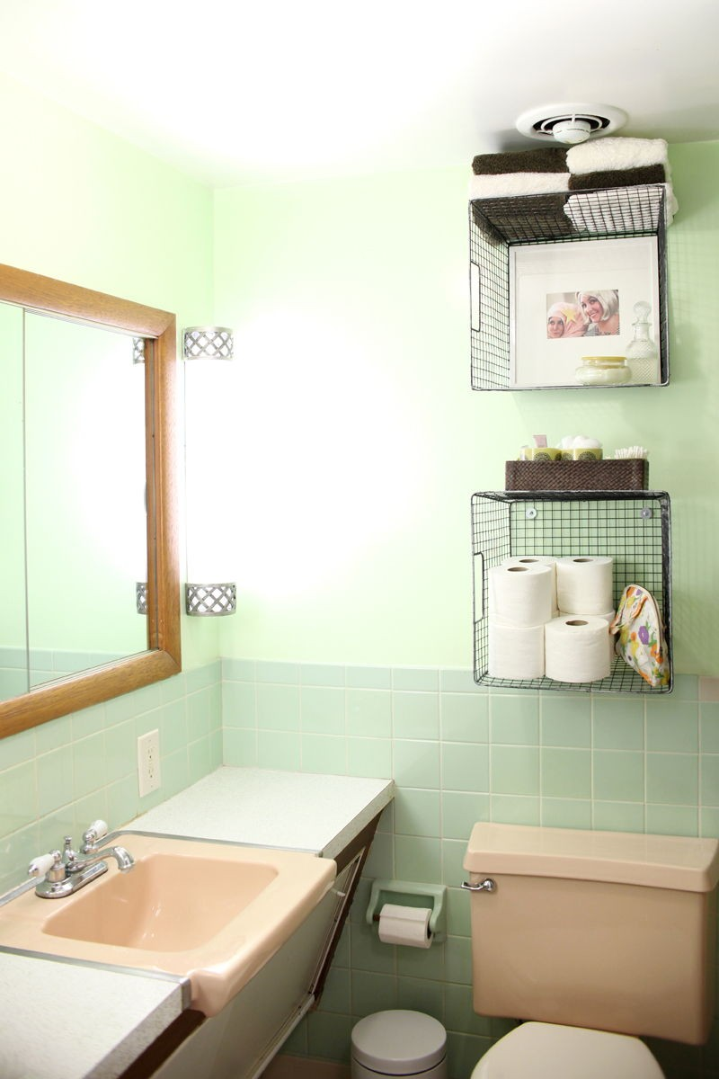 20 brilliant salle de bains organisation et solutions de stockage. Black Bedroom Furniture Sets. Home Design Ideas
