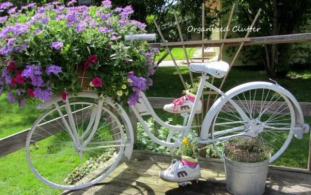 15+ Impressionnant Idées de Planteur de Vélo