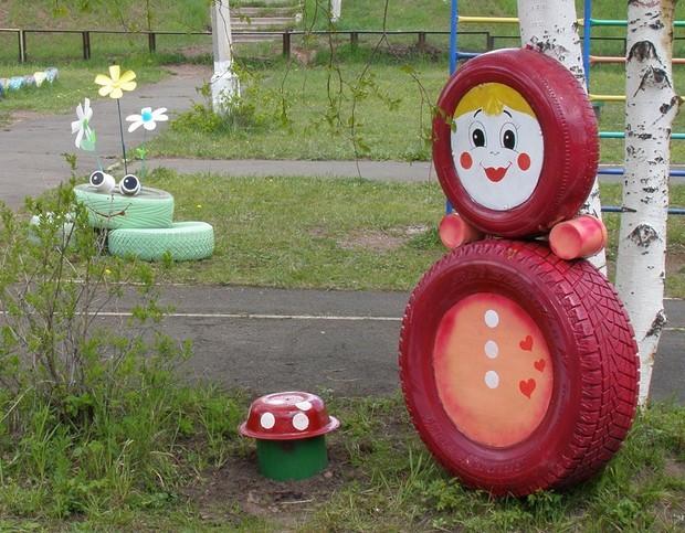 15 id es de g nie pour recycler de vieux pneus - Idee de genie bricolage ...