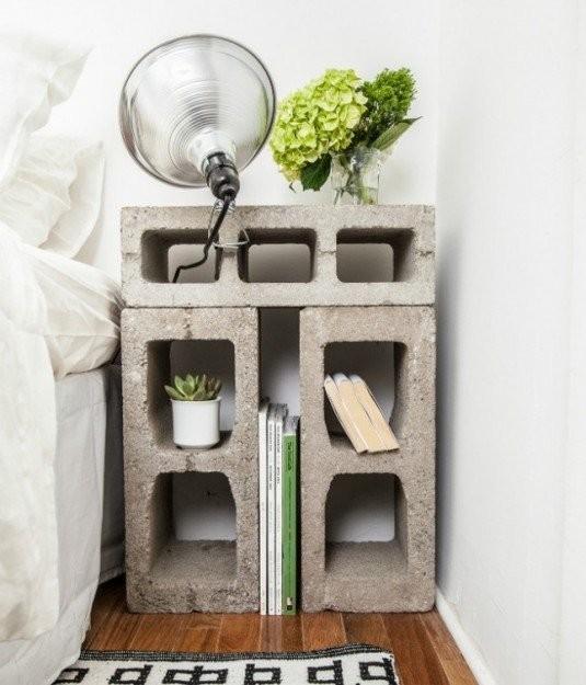 Idées Fantastiques d'Utiliser des Blocs de Béton dans Votre Maison