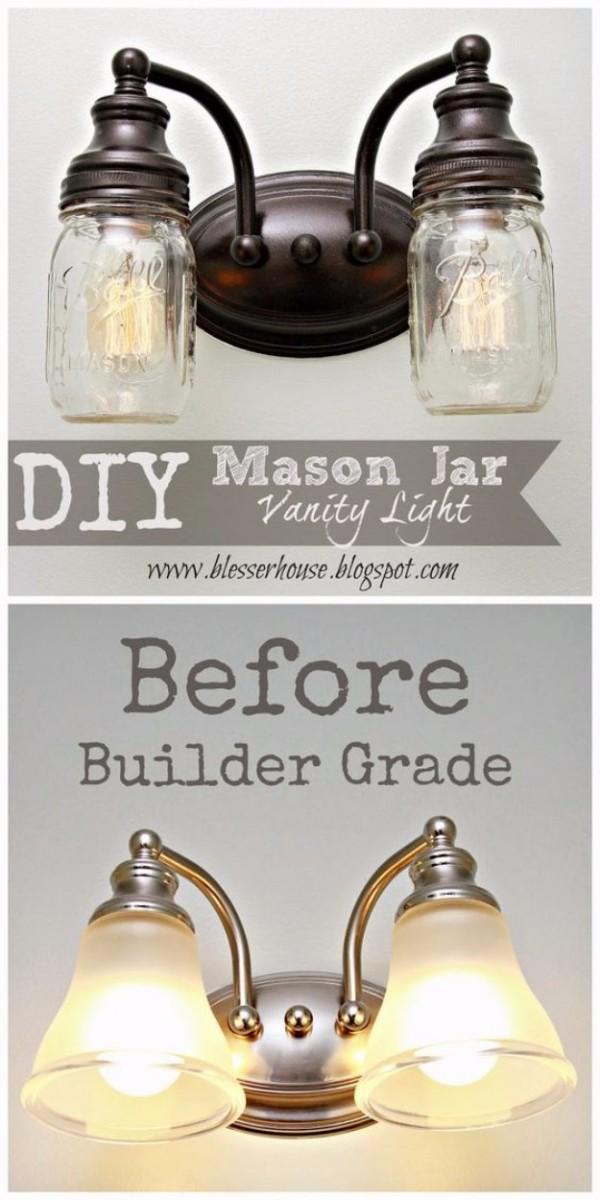 20+ Idées Originales pour l'Éclairage avec Pots Mason  20+ Idées Originales pour l'Éclairage avec Pots Mason  20+ Idées Originales pour l'Éclairage avec Pots Mason