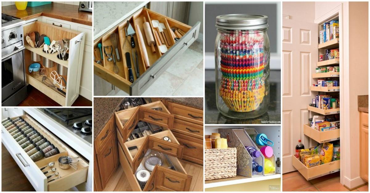 15 astuces rangement cuisine faire soi m me. Black Bedroom Furniture Sets. Home Design Ideas