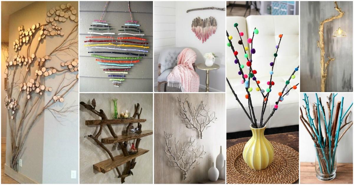 15 branches d arbres pour sublimer votre d coration d int rieur. Black Bedroom Furniture Sets. Home Design Ideas