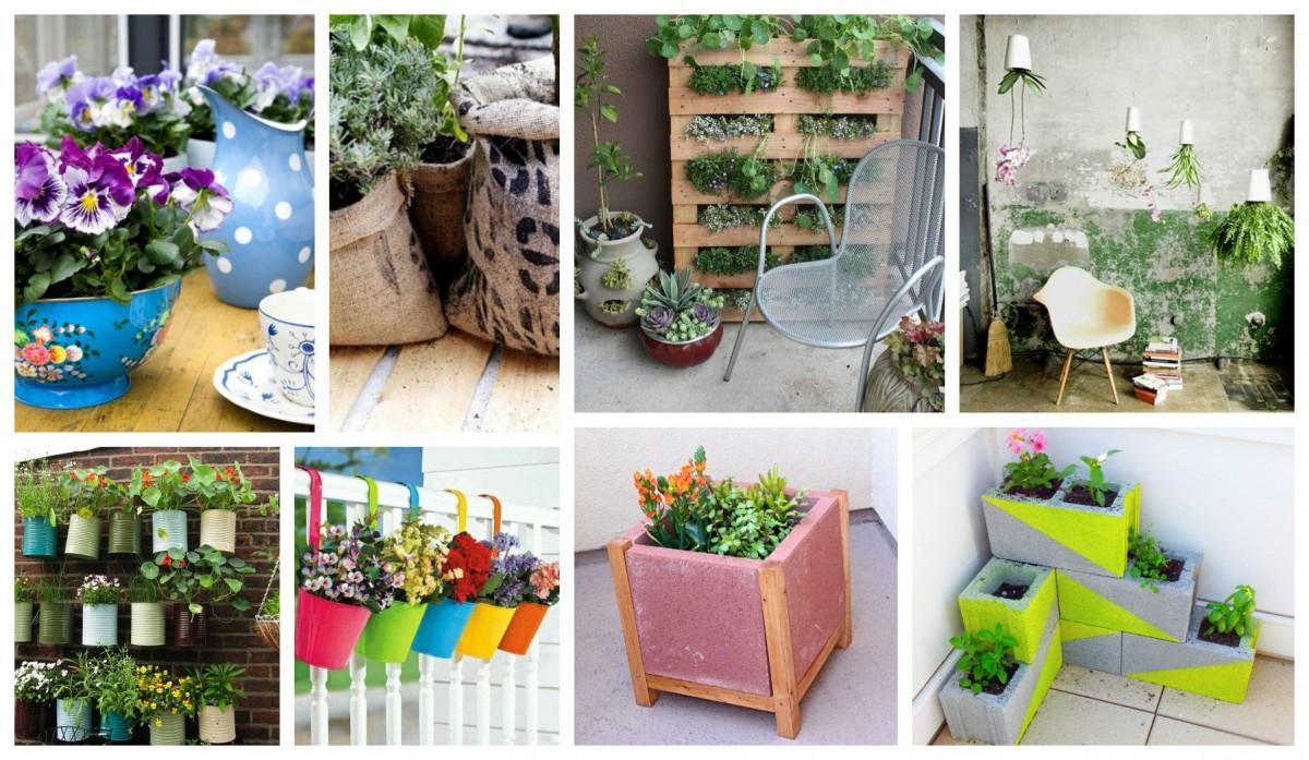 15 id es fantastique de jardini res pour embellir son balcon et sa terrasse. Black Bedroom Furniture Sets. Home Design Ideas