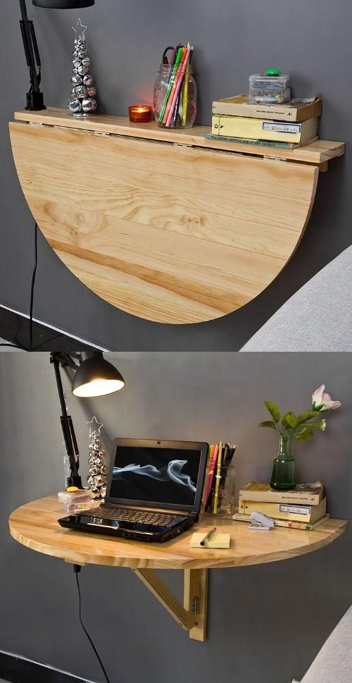 Idées Complètement Géniales de Meubles pour Économiser de la Place