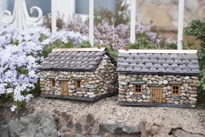 15+ Idées Maisons Miniatures en Pierre pour Décorer le Jardin !  15+ Idées Maisons Miniatures en Pierre pour Décorer le Jardin !