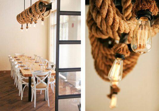 25+ De Beaux Projets de Corde pour Embellir Votre Maison