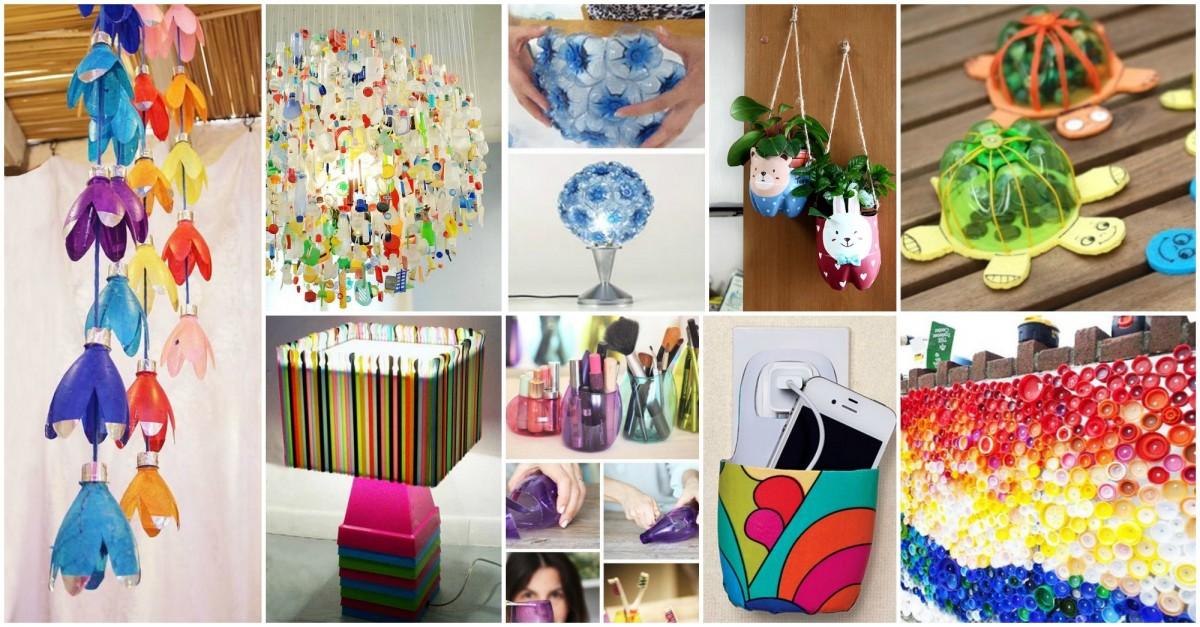 Souvent 15+ Façons Créatives de Recycler vos Bouteilles en Plastique PQ32