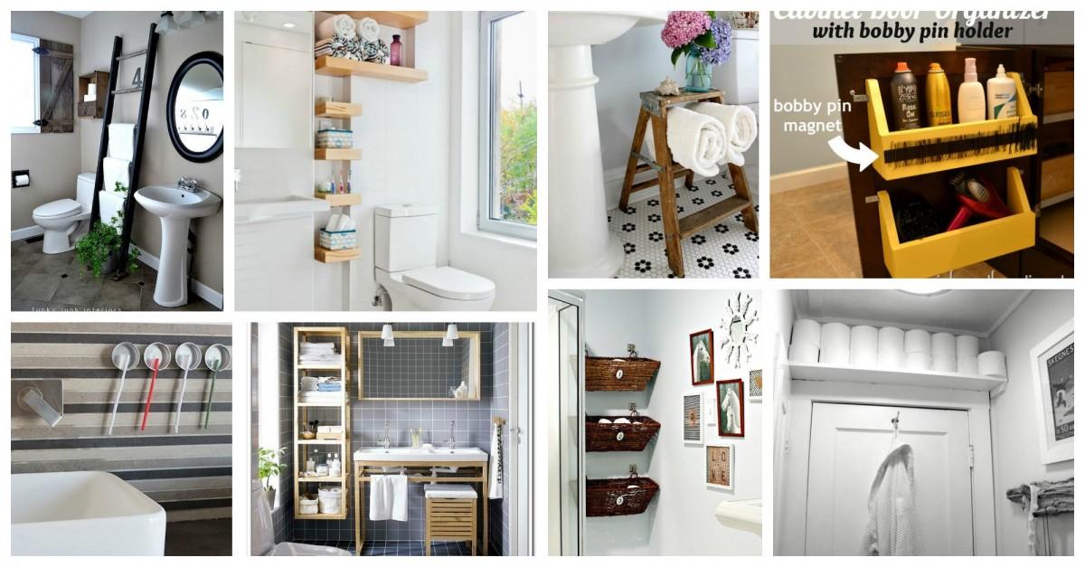 15 id es fantastiques diy pour salles de bains. Black Bedroom Furniture Sets. Home Design Ideas