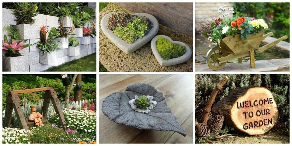 15 id es de d co originales pour votre jardin for Idee pour jardin