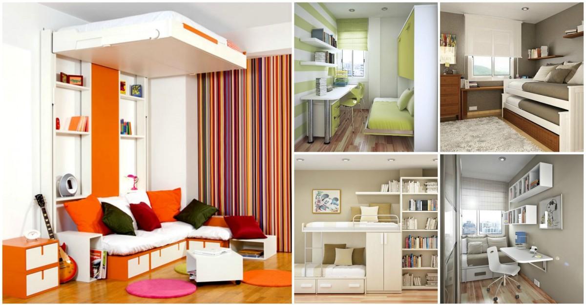 Id es originales pour d co petite chambre - Idees pour rendre une petite salle de bains beaucoup plus grande ...