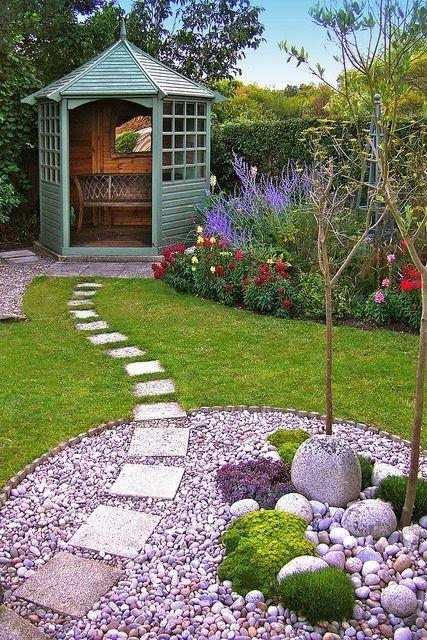 Idee Allee Jardin. Bordures De Jardin Pas Cher Installer Des ...