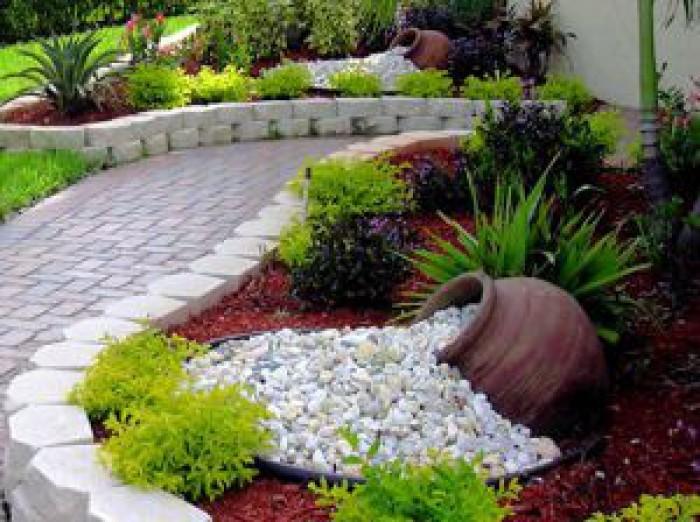 20 id es cr atives pour am nager votre all e de jardin - Idee pour amenager son jardin ...