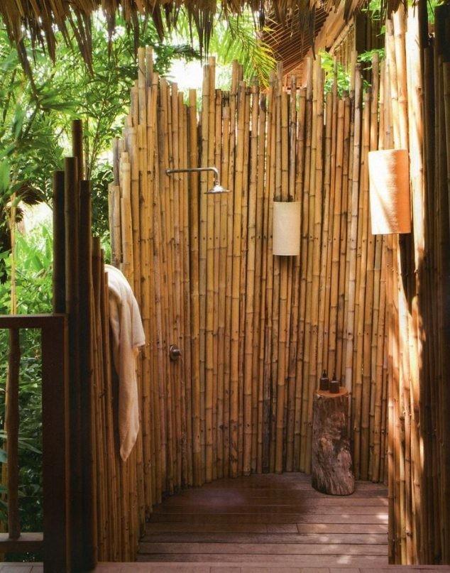 15+ Fantastique Créativement avec Bambou pour Votre Jardin
