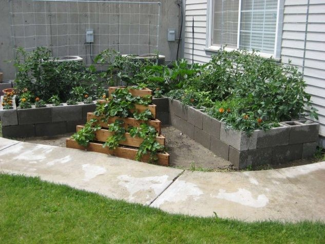 15 id es cr atives avec bloc b ton pour la d co de jardin
