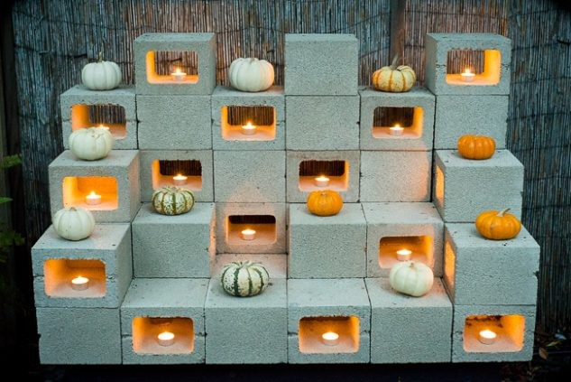 15+ Idées Créatives avec Bloc Béton pour la Déco de Jardin