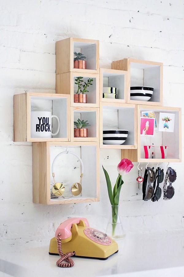15 tag res cr atives et d coratives qui embelliront votre maison. Black Bedroom Furniture Sets. Home Design Ideas