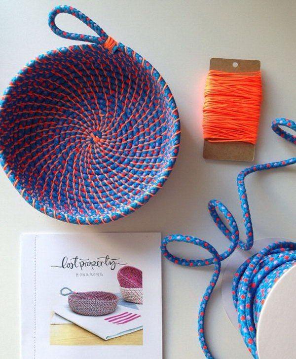 15+ Projets de Bricolage Créatifs à Faire Avec une Corde