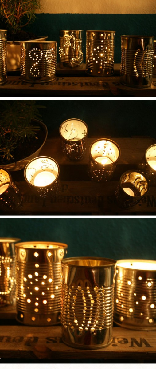 15+ Idées Creatif de Luminaires d'Extérieurs à Créer Soi-Même