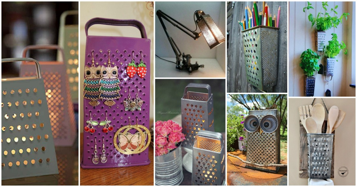 Favorit 13+ Idées Pour Recycler vos Vieux objets Cuisine FT17
