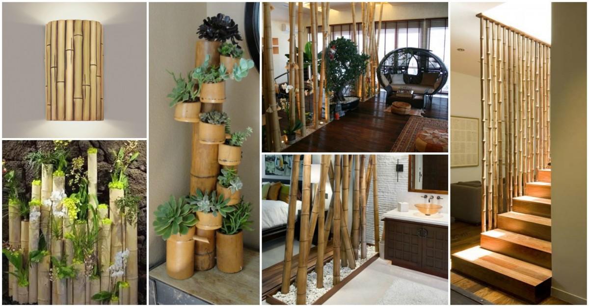 Ordinaire Bambou Decoration Interieure #11: 1001 Idées Créatives