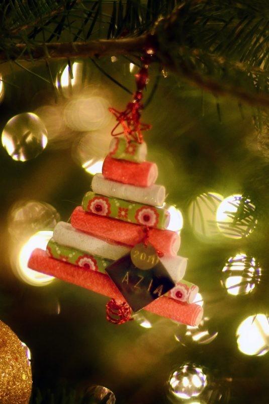 15+ Idées Ornements de Sapin de Noël à Fabriquer Soi-Même