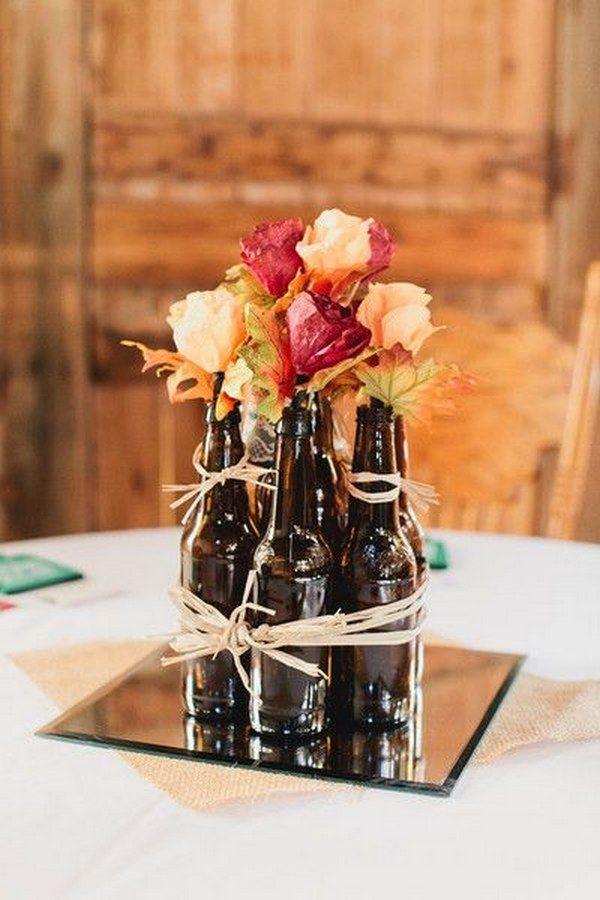 15+ Idées Créatif pour Recycler Bouteilles de Bière