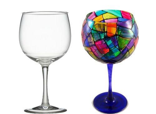 15+ Façons Creatif Avec des Verres à Vin
