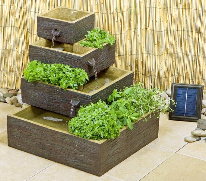 15+ Idées Fantastiques avec Fontaines de Jardin en Bois