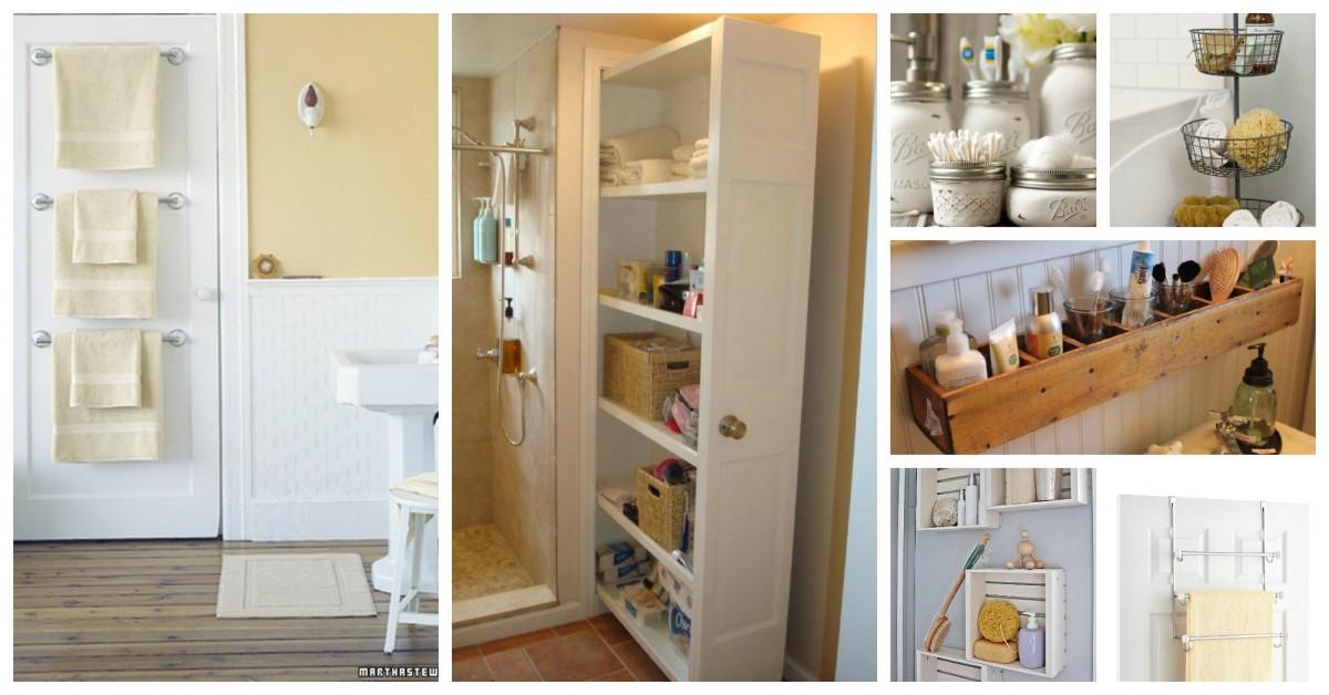 15 solutions de rangement pour votre salle de bain - Rangement bois idees creatives pour linterieur et lexterieur ...