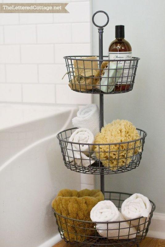 15+ Solutions de Rangement pour votre Salle de Bain (Impressionnante Simple)