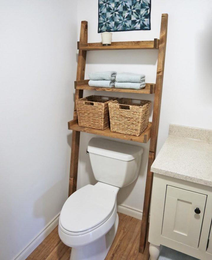 15 id es cr atives pour organiser sa petite salle de bain. Black Bedroom Furniture Sets. Home Design Ideas