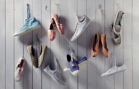 15+ Des Superbes Idées Créatives de Ranger vos Chaussures