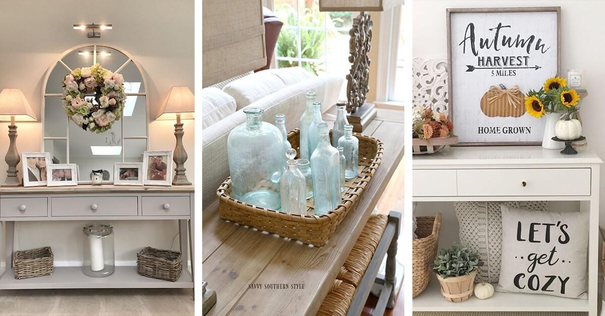 Idees-Tables-Consoles-Rafraîchir-Votre-Decoration