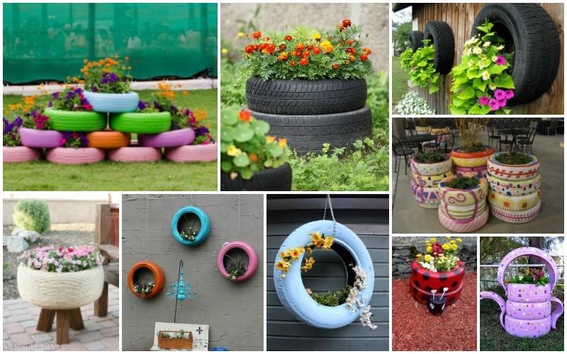 idees-planteurs-fleurs-avec-vieux-pneus
